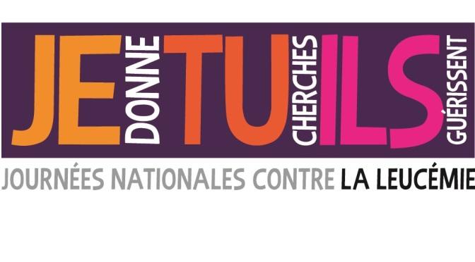 Les Journées Nationales Contre la Leucémie… c'est bientôt!