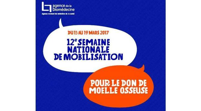 12e semaine nationale de mobilisation pour le don de moelle osseuse